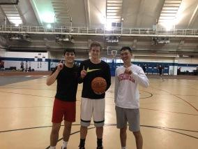 3v3 basketball champions (fall 2018)